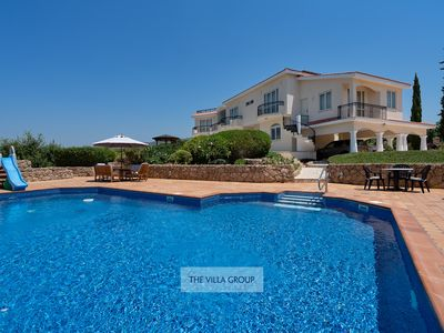 Photo for Outstanding 6 bedroom villa sleeping up to 16 with stunning sea and coastal view