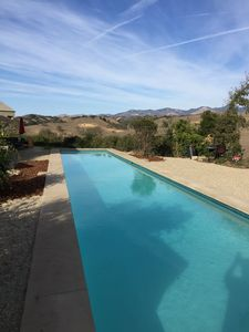 New 75' x 12' Lap Pool with cover