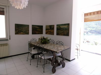 Photo for 80 m2 11 floor, splendid bay terrace, 3 minutes walk from the sea, parking space