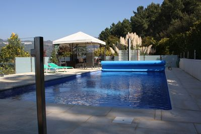 Your own private pool protected from view and surrounded by 40000m2 of park.