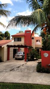 Photo for Private Playacar Home with Pool/Short Walk to Beach & Town