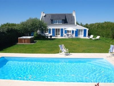 Photo for House in an unspoilt area with heated pool, Spa, and luxurious service