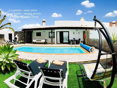 Photo for Villa Mariola with private pool, sea view, Sat-tv & free Wifi