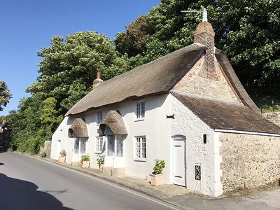 Photo for AMY COTTAGE, pet friendly, with a garden in West Lulworth, Ref 999858