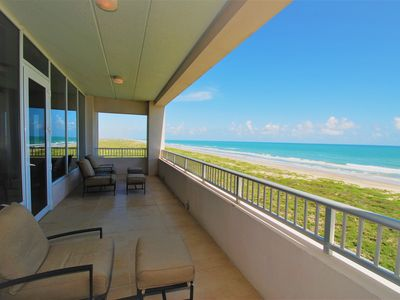 Photo for Incredible beachfront condo overlooking the beach! 401 North