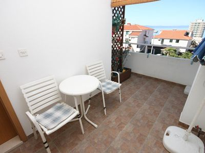 Photo for Studio flat with terrace and sea view Makarska (AS-9696-a)