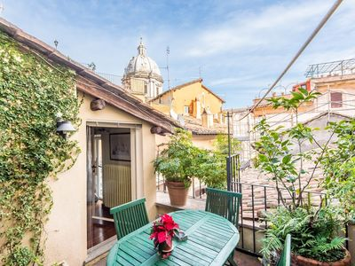 Photo for Apartment in the center of Rome with Internet, Air conditioning, Terrace, Washing machine (9721)