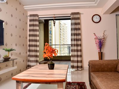 Photo for Smart Functional newly designed 2 Bed apartment Baner / Balewadi