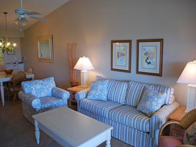 Photo for Sand Pointe Condo,Top Floor w/ Great View, Free WiFi/Beach Equipment