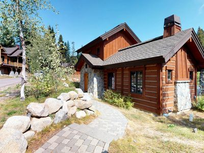 Photo for NEW LISTING! Modern ski-in/ski-out cottage w/ shared pool/hot tub & outdoor fire