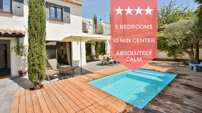 Photo for ❤️ UNIQUE ❤️ House with swimming pool only 10 min from the center of Cannes