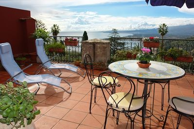 Panoramic terrace of Casa Lionessa