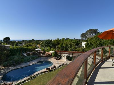 Photo for Ocean View 4bd, 3 ba home with pool and spa in Cardiff by the Sea(1 week min)