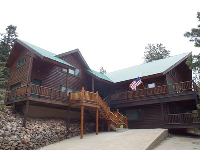 Photo for ENCHANTED CIRCLE LODGE-AWESOME MOUNTAIN VIEWS WITH A LOT OF ROOM TO PLAY!