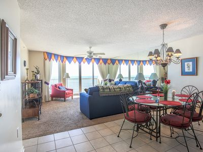 Photo for Special low rate for 2020:  Direct Oceanfront: 3 Bedrooms -  3 Baths - Sleeps 8