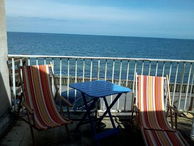 Photo for House Grandcamp EXCEPTIONAL VIEW SEA, range between Omaha beach & Isigny