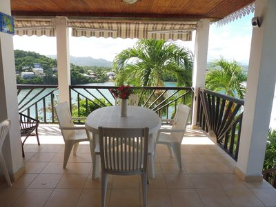 Photo for Detached seaside villa with spa around the beautiful Robert Bay