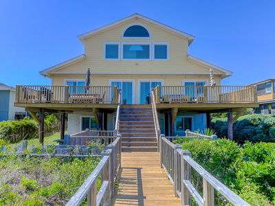 Photo for As Seen on HGTV!! High-End Oceanfront w/Pool Table on Folly Beach!