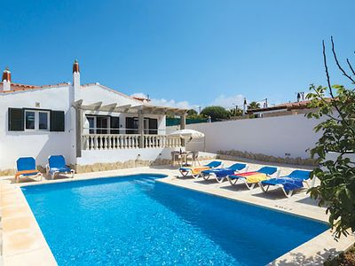 Photo for Cala en Porter Villa w/pool, walking distance from bars & restaurants