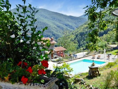 Photo for Mill Conversion,  Stream. Private Pool, Mountain Views! Walk restaurant. Peace!!