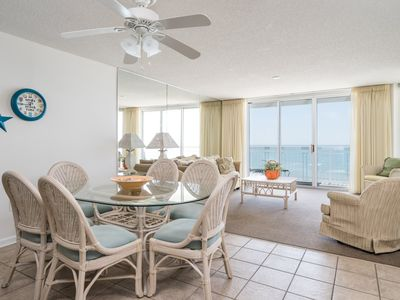 Photo for Crescent Shores N. -  904 Awesome views from the balcony, one of our most popular condos!