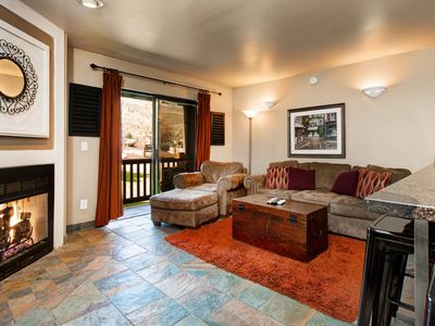 Photo for Powder Point Hideaway: Cozy Condo w/ View of Ski Mountain, 250 Yards to Lifts