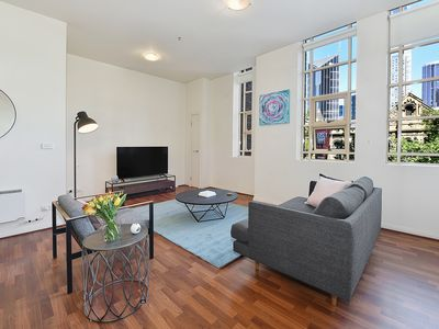 Photo for Fully Furnished one bedroom Apt 205/336 Russell St,Melbourne