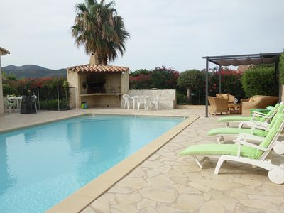 Photo for South Corsica villa with swimming pool nearby sea