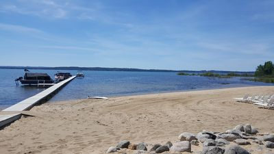 Boat and water sport rentals available on site.