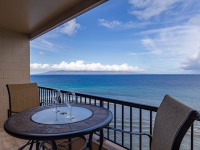 Photo for Maui Kai Penthouse - Panoramic Ocean Views & Whale Watching from the Lanai