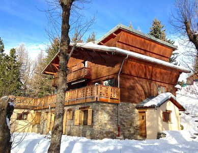 Photo for Rare: Apartment classified 4 *, 4 bedrooms, independent in chalet 10/12 p