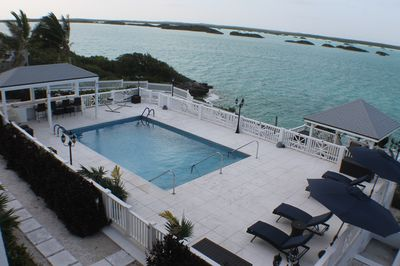Turks and Caicos is beautiful by nature... spectacular view from the balcony!