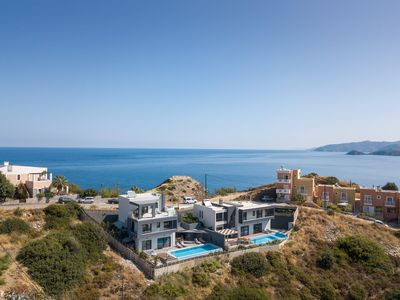 Photo for Villa Athina in Bali Crete Greece with private pool and elevator (3-level)
