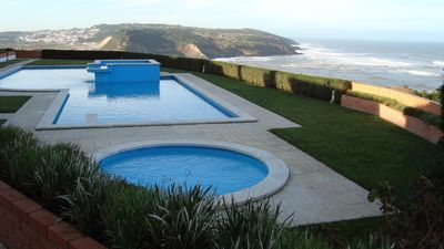 Photo for Apartment with ocean view, with pool in São Martinho do Porto