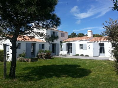 Photo for Clère beach, pretty house 8 people, Noirmoutier in the island