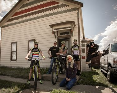 Very proud to house ToPeak Ergon Team for Leadville 100 in 2014!