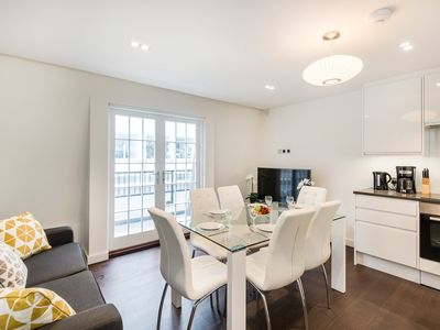 Photo for 3 BEDROOM WITH BALCONY - FLAT 7 - THE SOUTH KENSINGTON COLLECTION