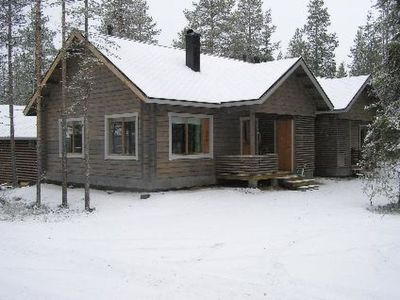 Photo for Vacation home Kantokelo b 2 in Ylläsjärvi - 6 persons, 1 bedrooms