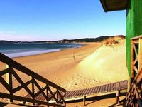 The beautiful beach Montalvo bay is right next to the property, you can hear the ...