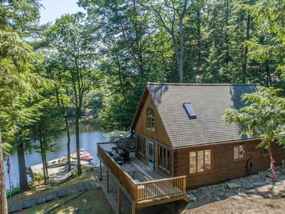 Photo for Spring Water Bay ~ Private & serene Lake Muskoka cottage