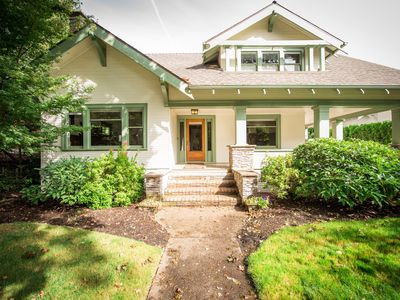 Photo for Downtown craftsman on the park, historic appeal with modern amenities