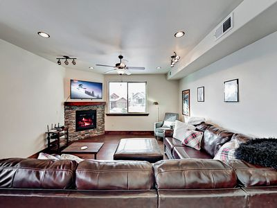Living Room - Welcome! Your rental is professionally managed by TurnKey Vacation Rentals.