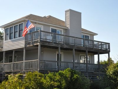 Photo for 3 BR Duck, Semi-Oceanfront, close to the beach access, Friday to Friday rental