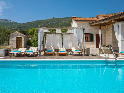 Photo for Lovely Villa Jure, in Dalmatia, with a Pool