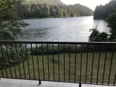 Photo for Waterfront Cottage On Oyster Bay in Pender Harbour, beautiful views, private