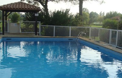 Photo for Maisonette T2 with garden and swimming pool
