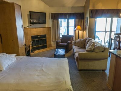 Photo for Steps to Winter Adventures Relaxed Condo w/Loft Bedroom 6ppl