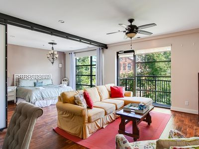 Photo for Modern 2 BR Condo w/ Private Gated Parking