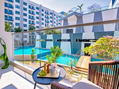 Photo for 5 Star Pool View Beach Resort close to Walking Street