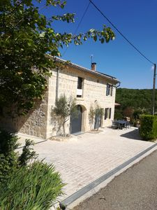 Photo for Holiday Home 10pers St Remèze Ardèche new swimming pool FREE SEPTEMBER